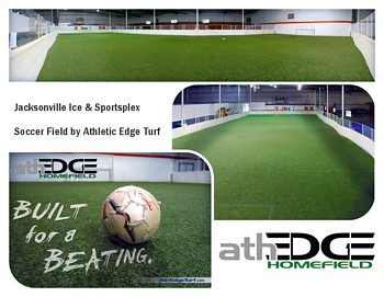 Jacksonville Ice & Sportsplex Soccer Field by AthEdge Turf
